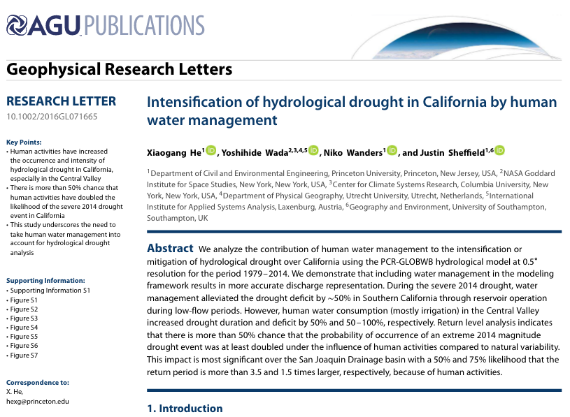drought essay Read drought essays and research papers view and download complete sample drought essays, instructions, works cited pages, and more.